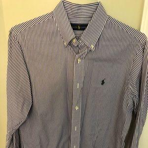 Polo button down shirt - checkered